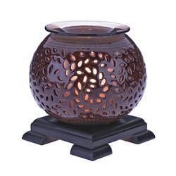 Aromatherapy Luxury Globe Fragrance Lamp - Brown