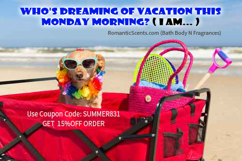 Who's dreaming of vacation this Monday morning? ( I AM... )