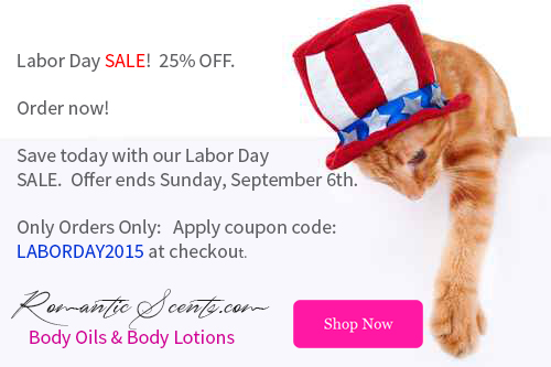 Labor Day SALE! 25% OFF.  Online Orders Only - Order now!