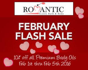 February Flash Sale Premium Body Oils