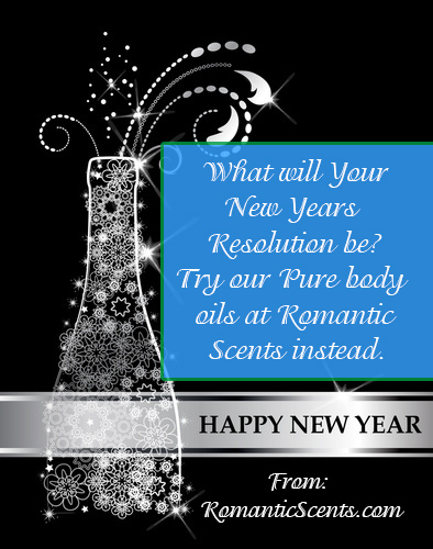New Years Resolution Pure Body Oils or Perfume Sprays