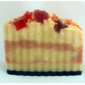 Strawberry Butter Creme Chia Soap