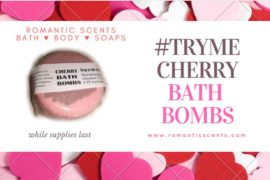 Fall In Love With Classic Cherry Bath Bombs