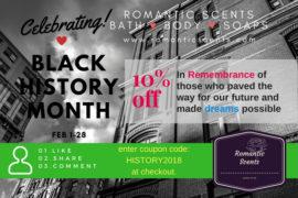 Black History Month RomanticScents
