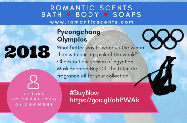 Winter Olympics 2018 Romantic Scents