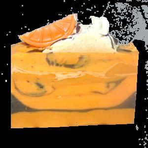 Mandarine-Orange-Flaxseed-Soap
