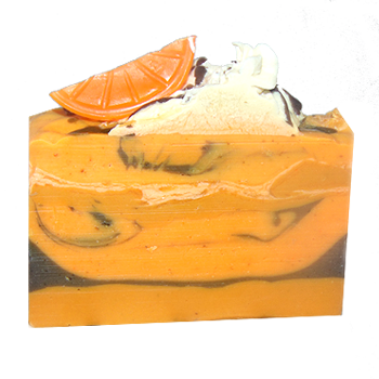 Mandarine Orange Flaxseed Soap