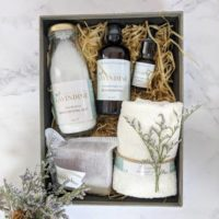 Natural Care Package Luxury Spa Gift Box Collection