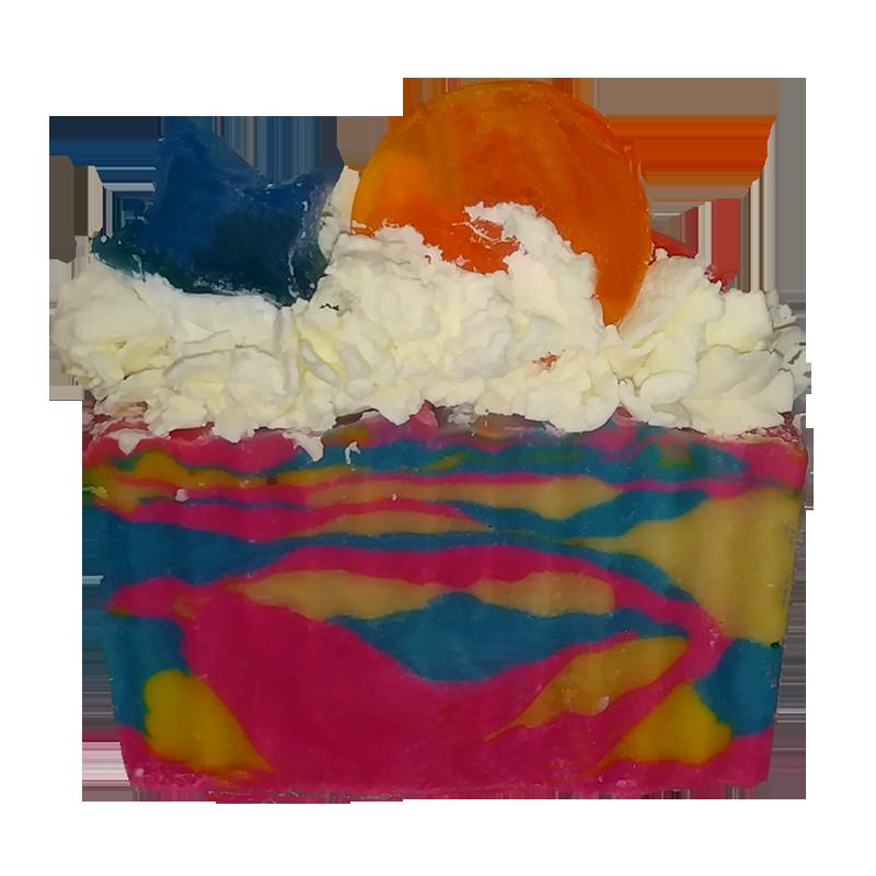 Cotton Candy Dreams Soap Artisan Luxury Soap Bar