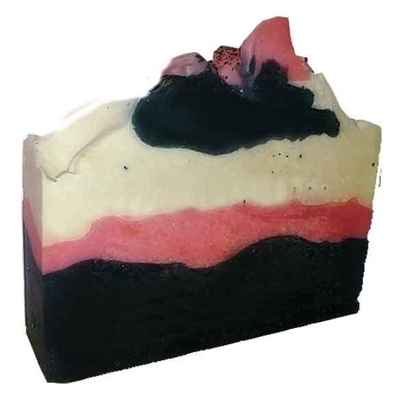 Peppermint Poppy Seed Soap