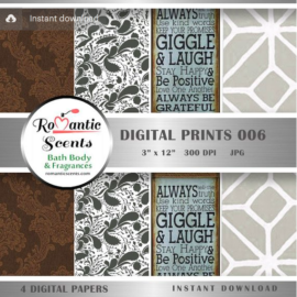 Digital PRINTS006 by Romantic Scents