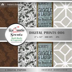 Soap Label: Digital Print 006