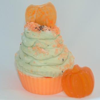 Cinnamon Pumpkin Cupcake Soap