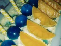 Lemon Blueberry Soap