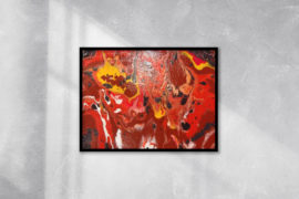 Red Desert Wall Art