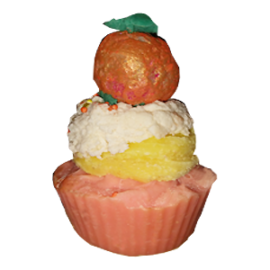 Orange Dreams Cupcake Soap