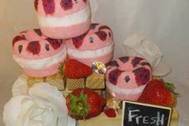 strawberry Dreams BathBombCoverPHoto