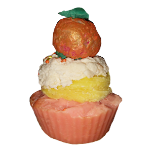 Orange Dreams Cupcake Soap