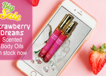 Strawberry Dreams Scented Body OIl Cover