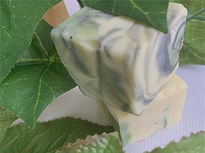 Green Irish Tweed Sample Soap
