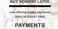 Get Sezzle Get AfterPay Zero Interest Free Payments